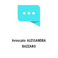 Avvocato ALESSANDRA BAZZARO