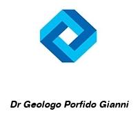 Dr Geologo Porfido Gianni