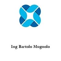 Ing Bartolo Mugnolo