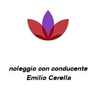 noleggio con conducente Emilio Cerella