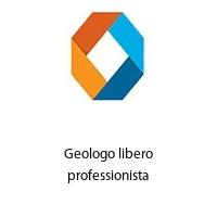 Geologo libero professionista