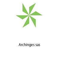 Archinges sas