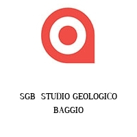 SGB  STUDIO GEOLOGICO BAGGIO