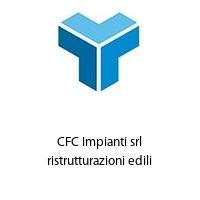 CFC Impianti srl ristrutturazioni edili