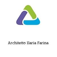 Architetto Ilaria Farina