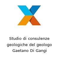 Studio di consulenze geologiche del geologo Gaetano Di Gangi