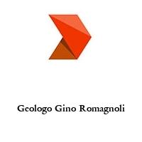 Geologo Gino Romagnoli
