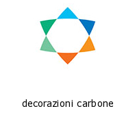 decorazioni carbone