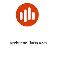 Architetto Ilaria Rota
