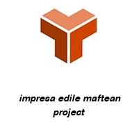 impresa edile maftean project