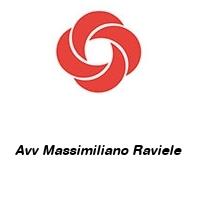 Avv Massimiliano Raviele