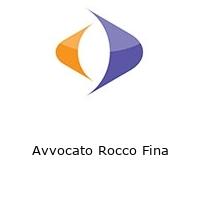 Avvocato Rocco Fina