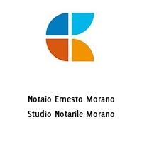 Notaio Ernesto Morano Studio Notarile Morano