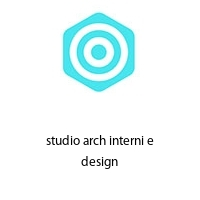 studio arch interni e design