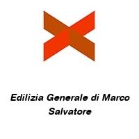 Edilizia Generale di Marco Salvatore