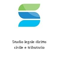 Studio legale diritto civile e tributario