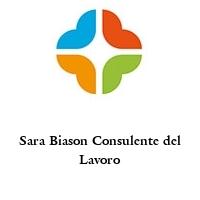 Sara Biason Consulente del Lavoro
