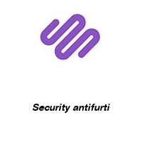 Security antifurti