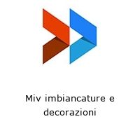 Miv imbiancature e decorazioni