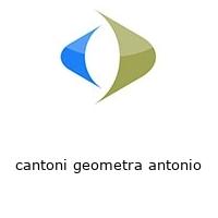 cantoni geometra antonio