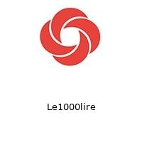 Le1000lire