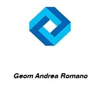 Geom Andrea Romano