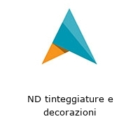 ND tinteggiature e decorazioni