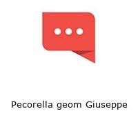 Pecorella geom Giuseppe