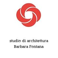studio di architettura Barbara Fontana