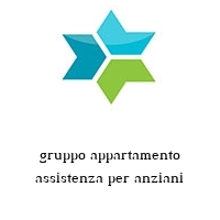 gruppo appartamento assistenza per anziani
