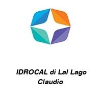 IDROCAL di Lal Lago Claudio