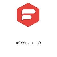 ROSSI GIULIO