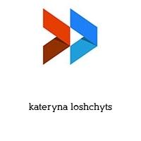 kateryna loshchyts