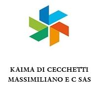 KAIMA DI CECCHETTI MASSIMILIANO E C SAS