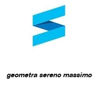 geometra sereno massimo