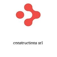 constructions srl