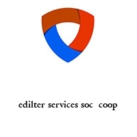 edilter services soc  coop