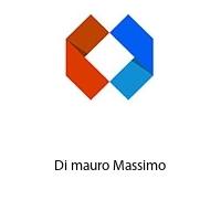 Di mauro Massimo