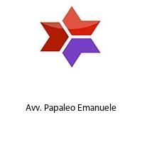 Avv. Papaleo Emanuele
