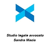 Studio legale avvocato Sandra Macis