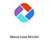Maria luisa Nordio