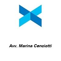 Avv. Marina Cenciotti