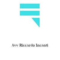 Avv Riccardo Incanti
