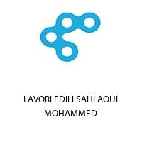 LAVORI EDILI SAHLAOUI MOHAMMED