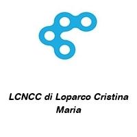 LCNCC di Loparco Cristina Maria