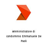 Amministratore di condominio Emmanuele De Paoli
