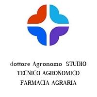 dottore Agronomo  STUDIO TECNICO AGRONOMICO FARMACIA AGRARIA