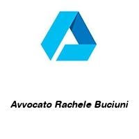 Avvocato Rachele Buciuni