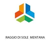 RAGGIO DI SOLE  MENTANA