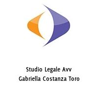 Studio Legale Avv Gabriella Costanza Toro